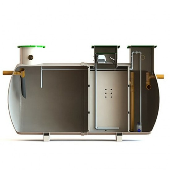 Clearwater Delta 2 (12 Person) Sewage Treatment System
