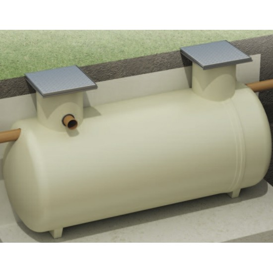 Clearwater 18 Person (4800 Litres) Low Profile Septic Tank