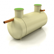 Klargester 24 Person (5700 Litres) Low Profile Septic Tank