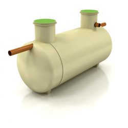 Klargester 2800L Low Profile Cesspool