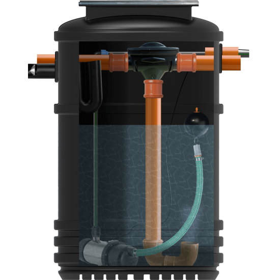 RainStore Rainwater Harvester 2000Ltr