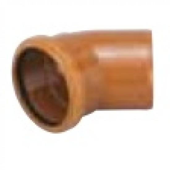 45 Degree Bend 110mm Single Socket