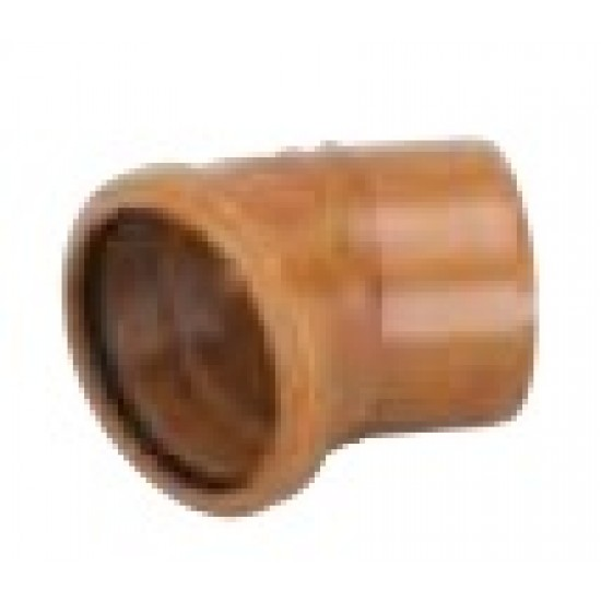 30 Degree Bend 110mm Single Socket