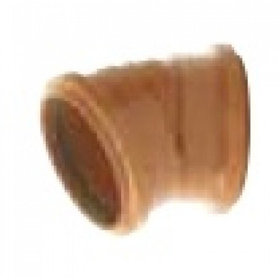 30 Degree Bend 110mm Twin Socket