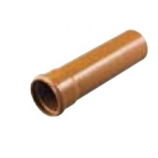 Single Socket Drainage Pipe 110mm x 3m