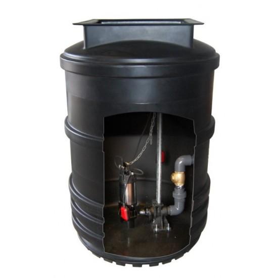 Maxi Single Pump Sewage Pumping Station 2400L
